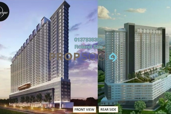 For Sale Condominium at The Edge Residen, Subang Jaya Freehold Semi Furnished 2R/2B 428k
