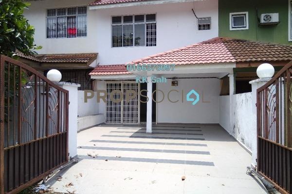 For Sale Link at Taman Muhibbah, Seri Kembangan Leasehold Semi Furnished 4R/2B 530k