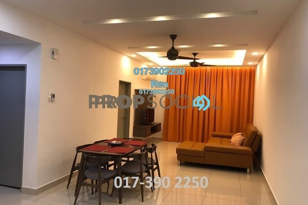 For Sale Condominium at DeSkye Residence, Jalan Ipoh Freehold Fully Furnished 3R/2B 690k