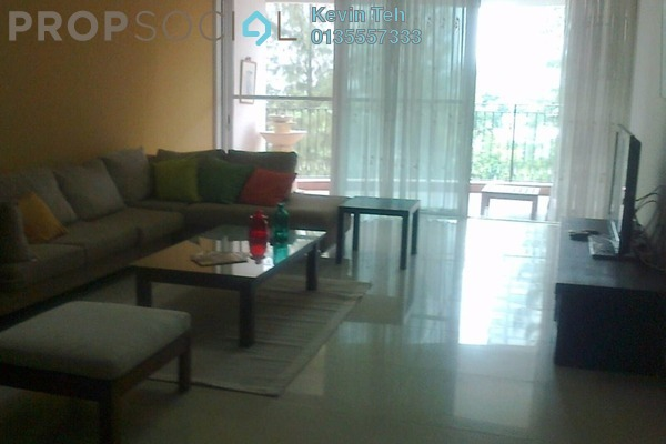 For Rent Condominium at La Grande Kiara, Mont Kiara Freehold Fully Furnished 3R/2B 4.8k