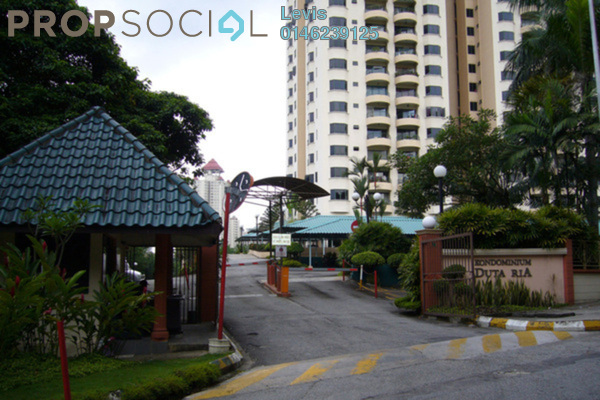 For Rent Condominium at Duta Ria, Dutamas Freehold Semi Furnished 3R/2B 1.7k