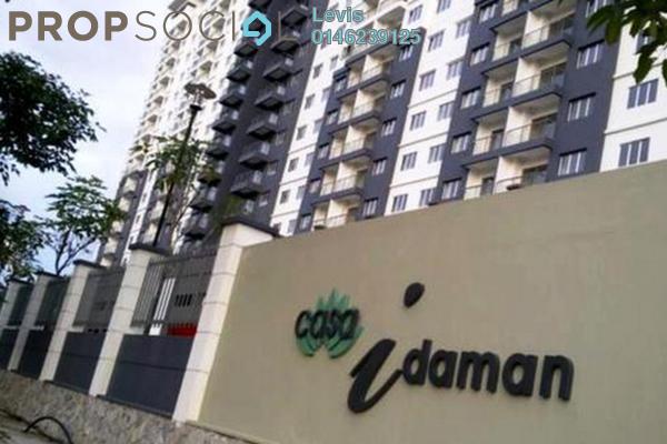 For Rent Condominium at Casa Idaman, Jalan Ipoh Freehold Semi Furnished 3R/2B 1.7k