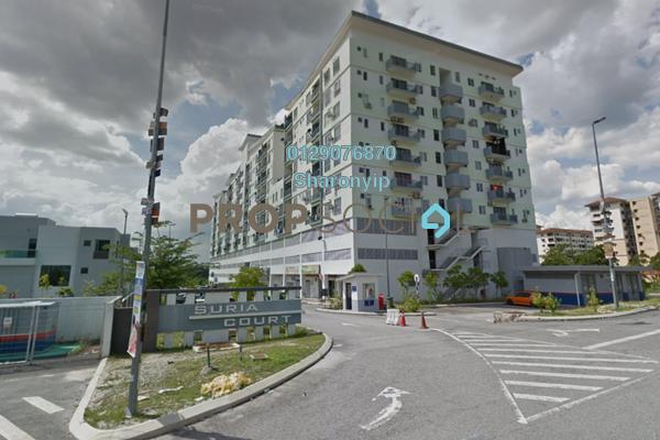 For Sale Serviced Residence at Suria Court, Bandar Mahkota Cheras Freehold Semi Furnished 3R/2B 400k