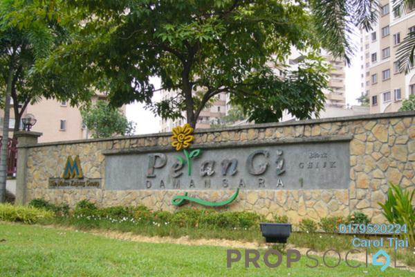 For Rent Condominium at Pelangi Damansara, Bandar Utama Freehold Semi Furnished 3R/2B 1k