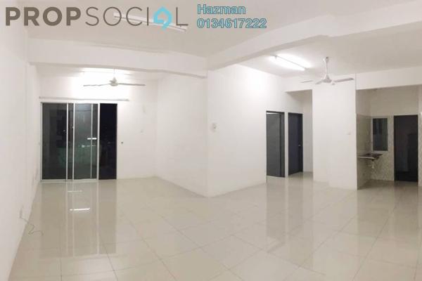 For Sale Condominium at Mahkota Garden Condominium, Bandar Mahkota Cheras Freehold Semi Furnished 3R/3B 440k