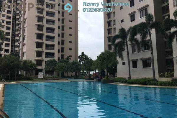 For Rent Condominium at Casa Tropicana, Tropicana Freehold Semi Furnished 2R/3B 1.6k