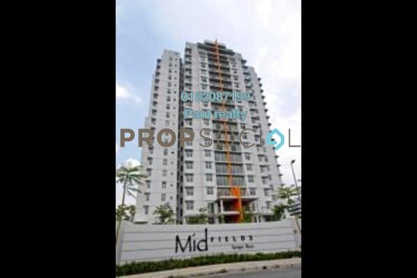 For Rent Condominium at Midfields, Sungai Besi Freehold Semi Furnished 3R/2B 1.6k
