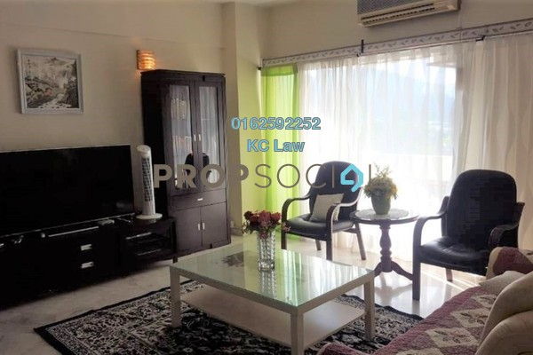 For Rent Condominium at Kiara Park, TTDI Freehold Fully Furnished 3R/2B 2.35k