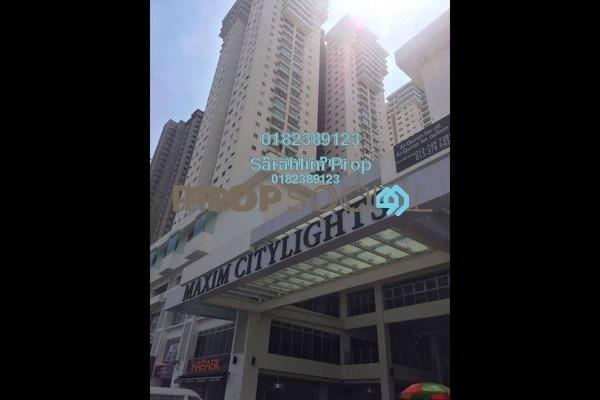 For Rent Condominium at Maxim Citilights, Sentul Freehold Unfurnished 2R/2B 1.4k