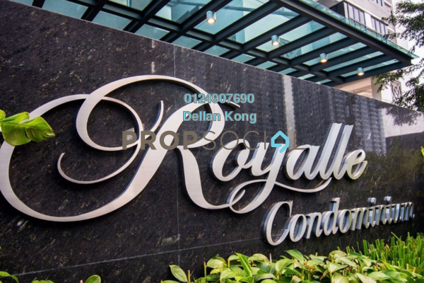 For Rent Condominium at Royalle Condominium, Segambut Freehold Semi Furnished 3R/3B 2.8k