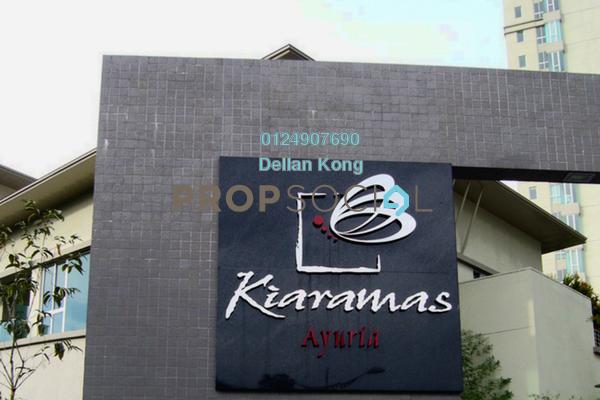 For Rent Condominium at Kiaramas Ayuria, Mont Kiara Freehold Fully Furnished 3R/4B 4.5k