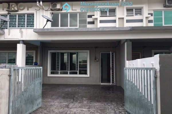 For Rent Terrace at Pantai Hillpark 2, Pantai Freehold Semi Furnished 4R/3B 1.2k