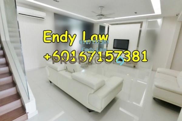 For Sale Terrace at Nusa Idaman, Iskandar Puteri (Nusajaya) Freehold Semi Furnished 4R/3B 870k