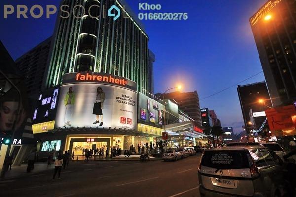 For Sale Condominium at Fahrenheit 88, Bukit Bintang Freehold Semi Furnished 2R/2B 1.08m