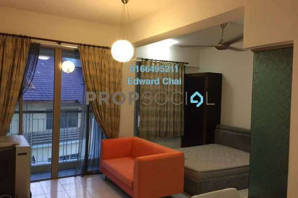 For Sale Condominium at Ritze Perdana 1, Damansara Perdana Freehold Fully Furnished 0R/1B 270k