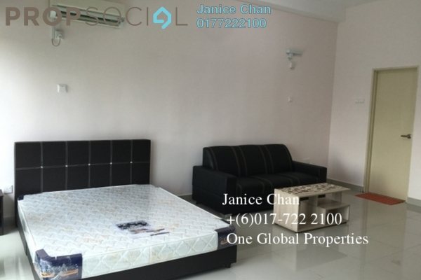 For Rent Serviced Residence at Palazio, Tebrau Freehold Fully Furnished 0R/1B 1k