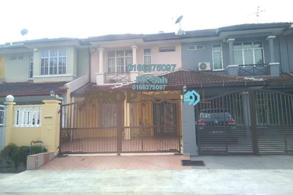 For Sale Terrace at Section 5, Bandar Mahkota Cheras Freehold Semi Furnished 4R/3B 520k