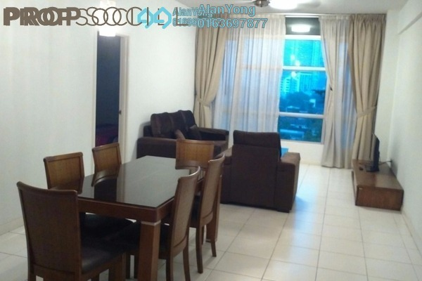 For Rent Condominium at The Saffron, Sentul Freehold Fully Furnished 3R/2B 2.4k