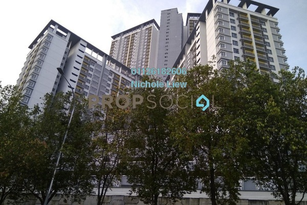 For Sale Apartment at Taman Desa Cheras, Alam Damai Freehold Semi Furnished 2R/1B 110k