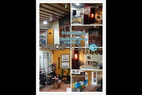For Sale Terrace at Saujana Impian, Kajang Freehold Semi Furnished 4R/3B 560k