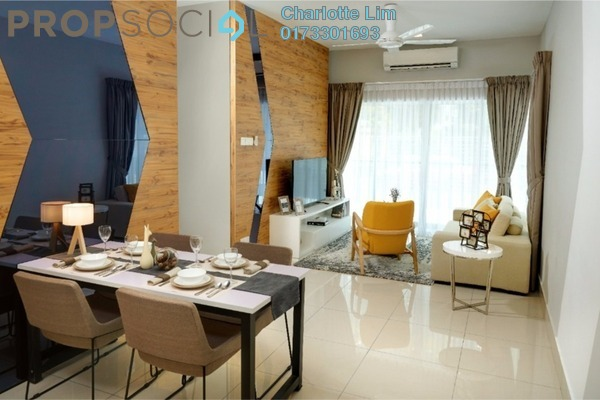 For Sale Serviced Residence at Razak City Residences, Sungai Besi Freehold Unfurnished 2R/2B 389k
