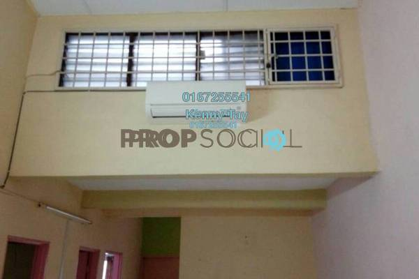 For Sale Townhouse at Taman Wangsa Permai, Kepong Freehold Semi Furnished 3R/2B 368k