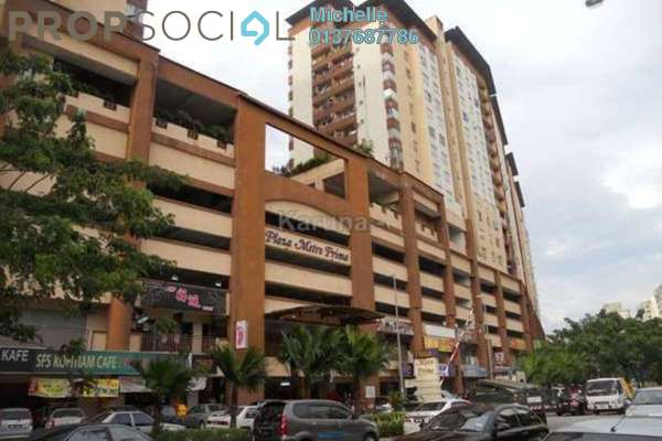 For Sale Shop at Plaza Metro Prima, Kepong Freehold Fully Furnished 1R/1B 1.15m