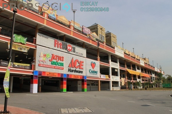 For Sale Shop at Plaza Jelutong, Bukit Jelutong Freehold Semi Furnished 0R/4B 969k