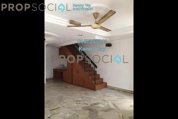 For Sale Terrace at Taman Kepong Indah, Kepong Freehold Semi Furnished 3R/2B 580k