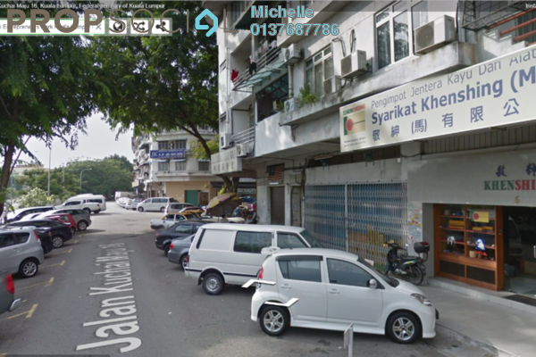 For Sale Shop at Kuchai Business Park, Kuchai Lama Leasehold Fully Furnished 2R/2B 1.35m
