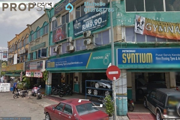 For Sale Shop at Danau Kota, Setapak Freehold Fully Furnished 3R/3B 1.8m