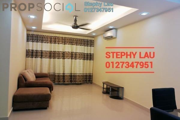 For Rent Condominium at Kinrara Mas, Bukit Jalil Freehold Fully Furnished 3R/2B 1.6k