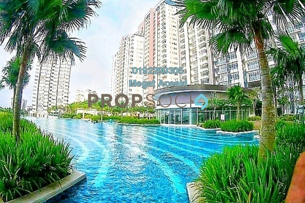 For Rent Condominium at Dwiputra Residences, Putrajaya Freehold Semi Furnished 3R/2B 1.6k
