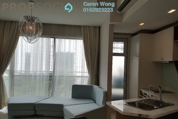 For Sale Condominium at VERVE Suites, Mont Kiara Freehold Fully Furnished 1R/1B 760k