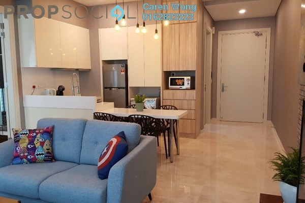 For Rent Condominium at Vogue Suites One @ KL Eco City, Mid Valley City Freehold Fully Furnished 2R/1B 4k