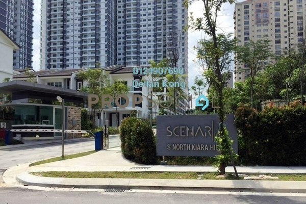 For Rent Condominium at Scenaria, Segambut Freehold Semi Furnished 3R/2B 2k