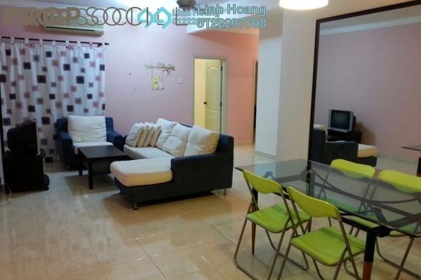 For Rent Condominium at Pelangi Utama, Bandar Utama Freehold Fully Furnished 3R/2B 1.9k