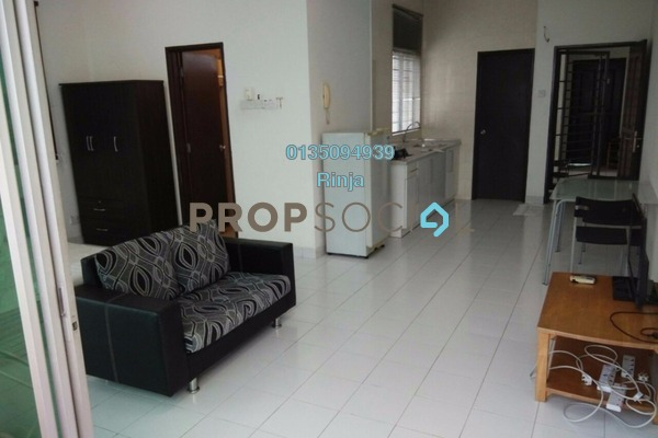 For Sale Serviced Residence at Casa Tiara, Subang Jaya Freehold Fully Furnished 1R/1B 428k