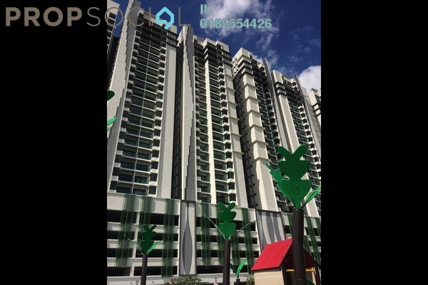 For Rent Condominium at Riverville Residences, Old Klang Road Freehold Semi Furnished 3R/2B 1.6k