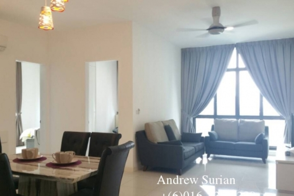 For Rent Condominium at Setia Sky 88, Johor Bahru Freehold Fully Furnished 3R/2B 3.2k