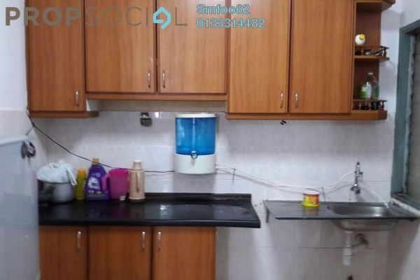 For Rent Condominium at Idaman Sutera, Setapak Freehold Semi Furnished 3R/2B 1.2k