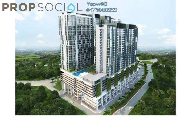 For Sale Condominium at The Edge Residen, Subang Jaya Freehold Unfurnished 2R/2B 451k
