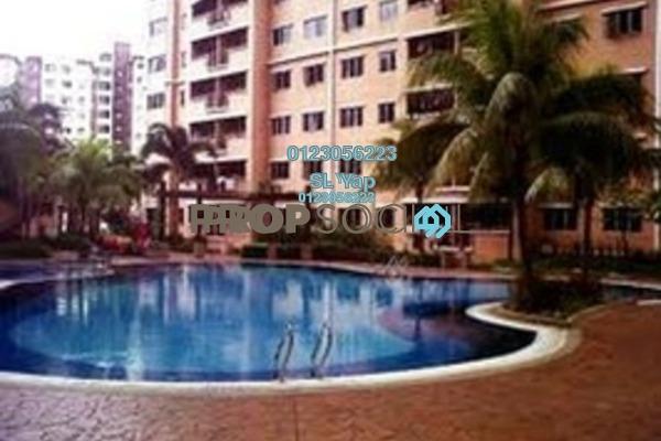 For Sale Condominium at Cengal Condominium, Bandar Sri Permaisuri Freehold Semi Furnished 3R/2B 475k