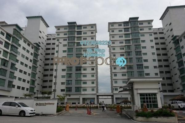 For Sale Condominium at Sierra Residency, Bandar Kinrara Freehold Unfurnished 3R/2B 430k