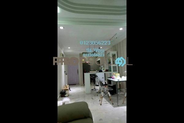 For Sale Apartment at Taman Lembah Maju, Pandan Indah Leasehold Semi Furnished 3R/2B 260k