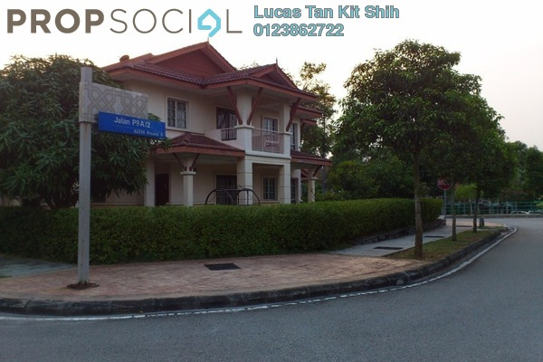 For Rent Terrace at Precinct 9, Putrajaya Freehold Semi Furnished 4R/3B 3.8k