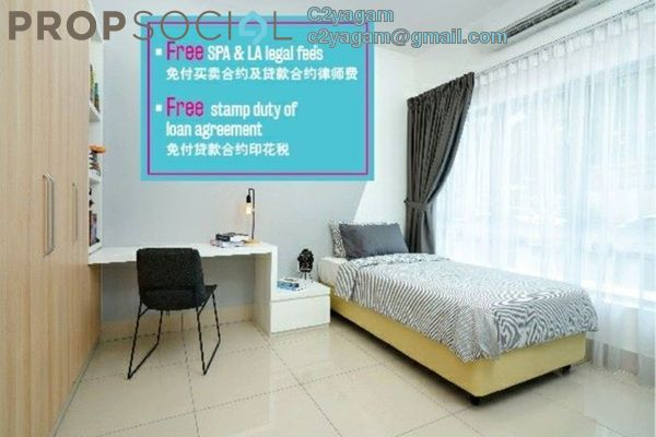 For Sale Condominium at Razak City Residences, Sungai Besi Freehold Fully Furnished 2R/2B 380k