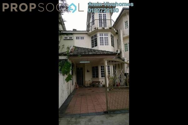 For Sale Terrace at Taman Bukit Utama, Bukit Antarabangsa Freehold Semi Furnished 5R/3B 630k