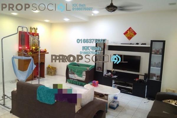 For Sale Link at Section 4, Bandar Mahkota Cheras Freehold Semi Furnished 4R/3B 618k