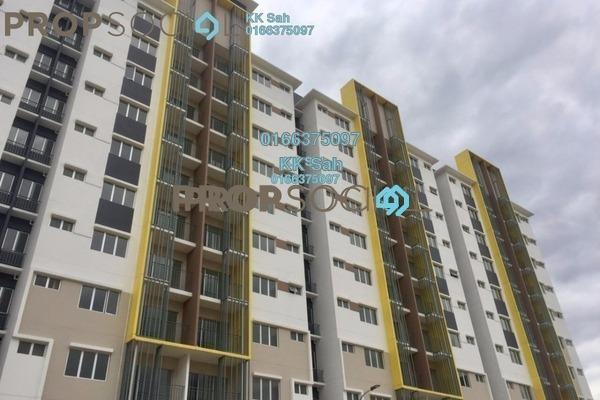 For Sale Condominium at Seri Pinang Apartment, Setia Alam Freehold Unfurnished 3R/2B 330k